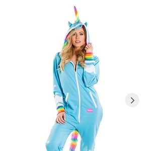 Tipsy Elves Unicorn Jumpsuit Costume